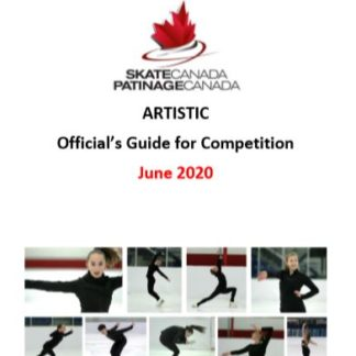 A photo of a document containing requirements and guidelines for officiating in the discipline of Artistic skating.