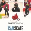 A picture of a digital poster promoting CanSkate.