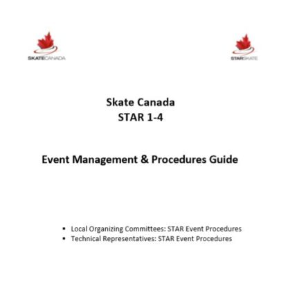 A photo of document containing a summary of how to manage and execute STAR 1-4 events.