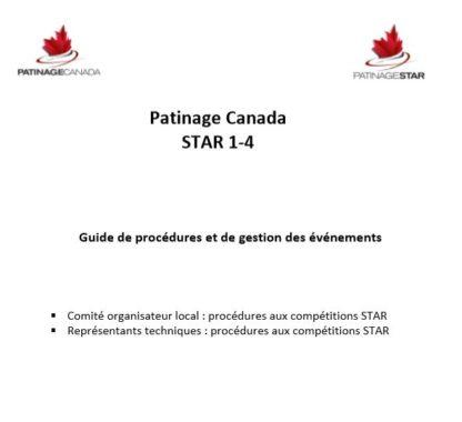 Une image d'un document contient un résumé de la façon de gérer et d'exécuter les épreuves STAR 1-4.