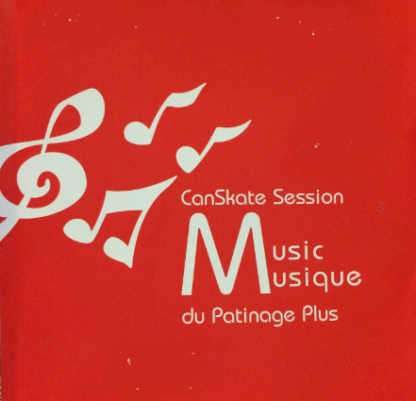 A picture of the CanSkate Music CD
